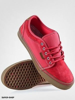 bambas vans rojas