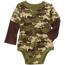 Pañalero Camiseta Camuflaje Militar Americano Envio Gratis