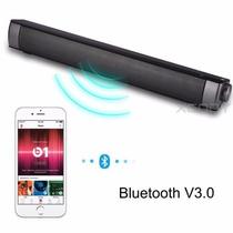 Barra De Sonido Inalámbrica Ip-08 Con Bluetooth