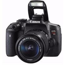 Camera Canon Eos Rebel T6i Dslr Somente Corpo