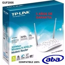 Moden Router Wife Adsl2+ 300mbps Tp-link Td-w8961n