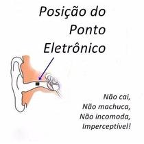 Micro Escuta Espiã Ponto Eletrônico De Ouvido Invisível