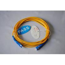 Cable De Fibra Optica Jumper Sc-sc Monomodo Simplex 3mts A10