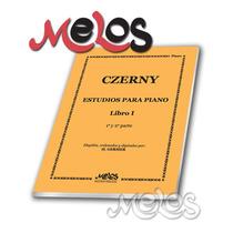 Czerny - Germer - Estudios Para Piano Libro 1- Oferta N