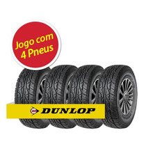 Kit Pneu Aro 15 Dunlop 205/70r15 At3 96t 4 Unidades