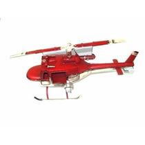 Helicoptero Vintage Bombeiros Em Latão Decoração Militar !!