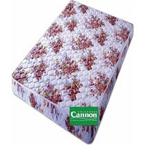 Colchon Cannon Linea Princess Goma 1 Pl Paza 23 Cm