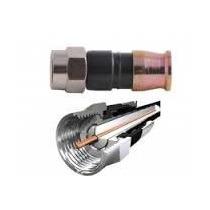 50 Conectores Rg 59 Compresión Tv Cable Coaxil Rg-59 Directv