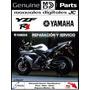 Manual De Taller Reparación Yamaha Yzf R1 En Español