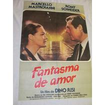 Afiche Antguo Con Marcello Mastroinni