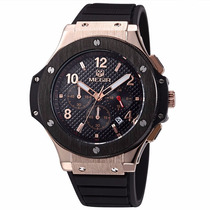 Relógio Quartz Megir Militar Original Cronometro