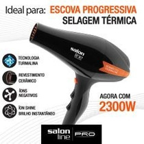 Secador Prof 2300w 220v Power Tourmaline Íon Salon Line