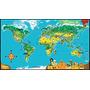 Juguete Leapfrog Leapreader Mapa Interactivo Del Mundo (tra