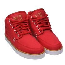 Tênis Hocks Coruña Red Natural Skate Sneaker Raro