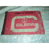 Antiguo Manual De Repuestos Gilera 150 Gt Sprint Sp