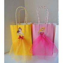 Bolsas Personalizado Souvenir Princesa Cumpleinfantil Regalo