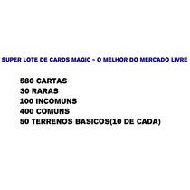 Super Lote De Cards Magic - O Melhor Do Mercado Livre