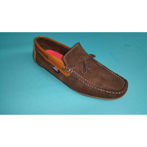 Calzado Mocasin Apache En Cuero Zapatos De Calidad Genuina