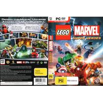 Jogo Herois Lego Marvel Super Heroes Pc Ptbr -promoção
