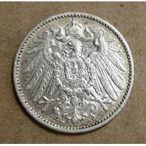 Alemania-imperio Un Marco Plata 1911 F Exc+++sin Circular.