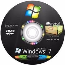 Cd De Instalação Windows 7 Todas Versões + Serial Original