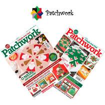 Revistas Patchwork Natal Decoração Papai Noel Com Moldes