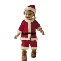 Disfraz Bebé Viejito Pascuero (4 A 6 Meses)