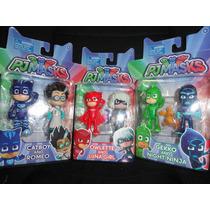 Coleccion Pj Mask Set 6pz Héroes En Pijamas Envio Gratis