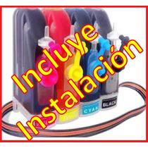 Sistema De Tinta Hp Cartuchos 122 Y 662 Mas Instalacion
