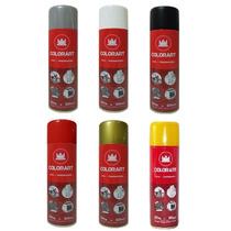 Tinta Spray Alta Temperatura 600ºc Colorart Todas As Cores