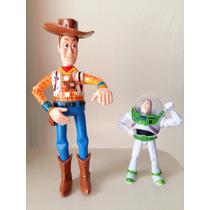 Boneco Articulado Woody Toy Store 25 Cm Luz Led Com Som