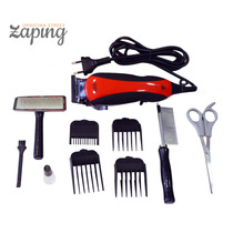 Tosquiadeira Pet Clipper Maquina De Tosa Cães Gatos Kit
