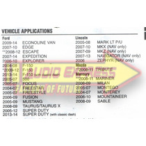 Base Frente Estereo Doble Din Ford 500 2005 A 2007 Hf 0580dd