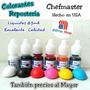 Colorantes Reposteria Chefmaster Importado Mejor Q Payasito