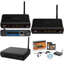 Router D-link Dir-600 C1 Poco Uso - Impecable C/t Accesorios