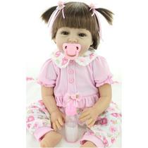 Linda Bebê Reborn Perfeita Realista 55 Cm Importada !!!