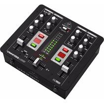 Mixer Consola Mezcladora Dj Behringer Vmx100 Usb