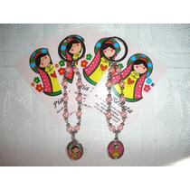 1 Pack C/5 Denarios Llavero Originales Virgen Plis Porfis