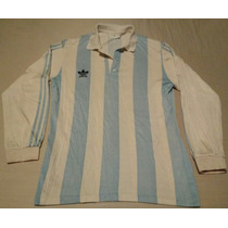 Vieja Camiseta Argentina Racing Adidas Mangas Largas Talle 3