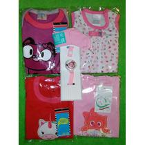 Ajuar De Nacimiento Set De 4 Prendas Para Beba Envio Gratis
