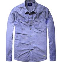 Oferta!! Camisa Hombre Manga Larga Bleuen Inside