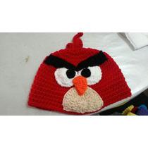 Gorros Lana Tejidos Al Crochet - Angry Birds