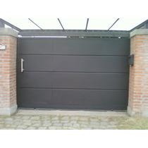 Portón Corredizo Con Puerta De Escape Oferta!!!!!!!!
