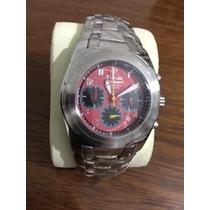 Relógio Ferrari 5006d - Vermelho C/ Preto + Nota Fiscal