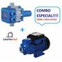Bomba Agua 1/2 Hp Toyo Con Sensor Press Control Saco