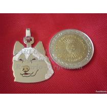 Siberian Husky - Dije Plata 925 - Oro 18k