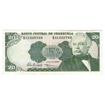 Argentvs * Venezuela Billete De 20 Bolivares 1995 - P#63e
