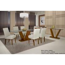 Sala De Jantar Lisboa Completa Madeira Maciça - Mobillare