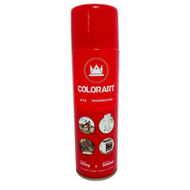 Tinta Spray Alta Temperatura Vermelho - 600ºc- Colorart