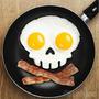 Molde Silicona Para Freir Huevos En Forma De Calavera